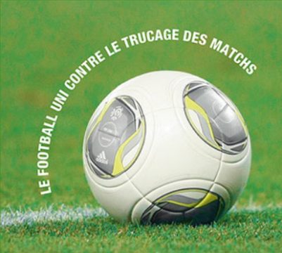 Football uni contre trucage
