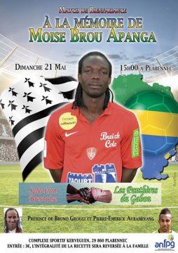Affiche match Brest Brou Apanga