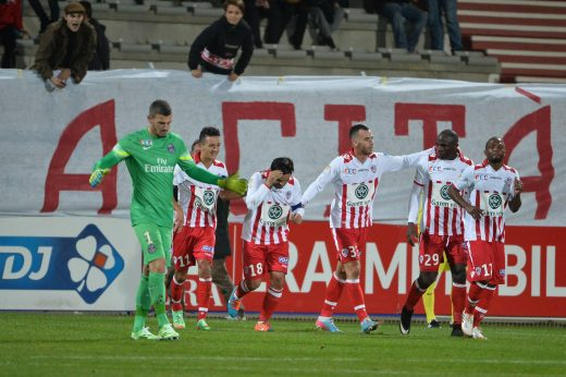 AJACCIO-PSG (1-3)