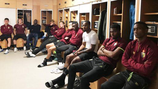 100% d'adhésion à Lens, comme à Reims, comme à Valenciennes, les trois clubs visités en ce début de semaine...