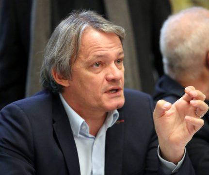 Sylvain Kastendeuch parle avec passion du projet politique qu'il a initié...