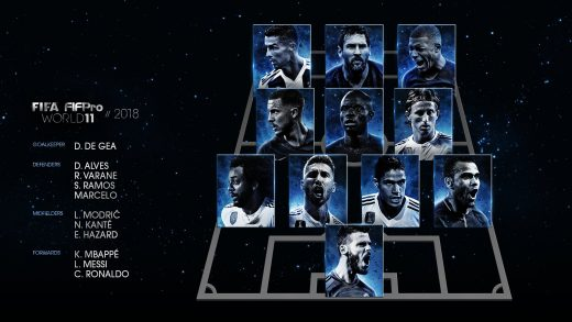 WORLD XI 2018