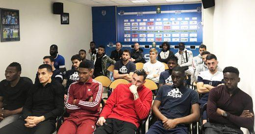 23 joueurs à Troyes...