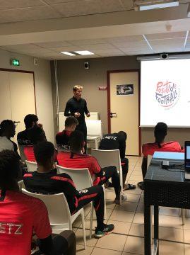 Franck Signorino présente le mouvement Positive Football...