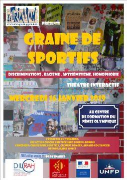 affiche Graine de sportifs 16 janv 2019 nimes